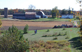 A view of the Ludwig Farm in southern Washtenaw County.