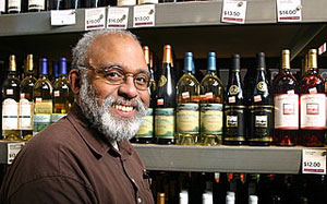 Veteran Ann Arbor wine retailer Rod Johnson heads up the wine department at Plum Market.