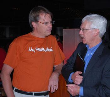 Victor Strecher and Ken Nisbet.