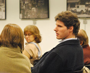 Carsten Hohnke, who represents Ward 5 on Ann Arbor city council, attended Tuesday