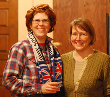 Grace Singleton and Kim Bayer are on the leadership team for Slow Food Huron Valley.