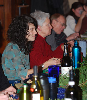 at Wednesday Slow Food Huron Valley annual dinner.