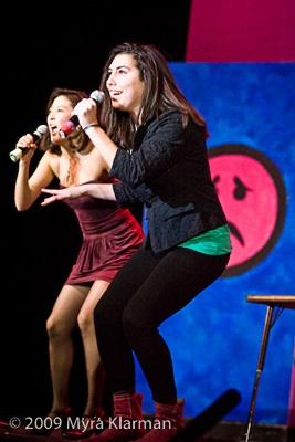 Ashley Park and Sonya Major