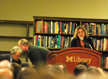 Bill Ayers Ann Arbor book reading