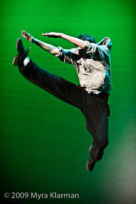 Robert Axelrod of Huron High. His break dance earned him a spot in the Jan. 17 FutureStars 2009 finals.