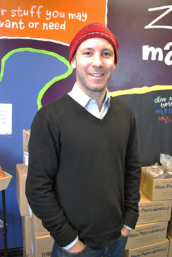 Mo Frechette, managing partner at Zingermans Mail Order.
