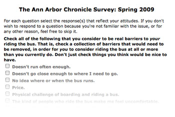 Ann Arbor Survey