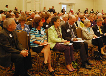 The Ann Arbor Area Community Foundation held its annual meeting at the Four Points Sheraton.
