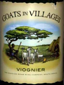 Label from Viognirs Goats in Villages