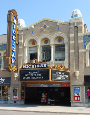 Coming soon to the Michigan Theater marquee