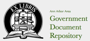 The Ann Arbor Area Government Document Repository has now launched.