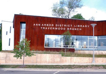 The Ann Arbor District Library's Traverwood branch.