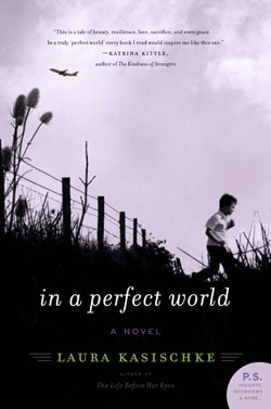 "Book cover for ""In a Perfect World"" by Laura"