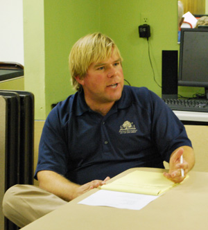 Colin Smith, the city's parks & recreation manager