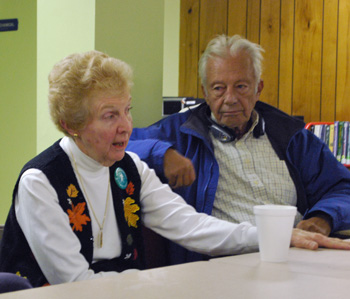 Margaret Creger, who uses the senior center, said the city needs to find a way to make the center more welcoming.
