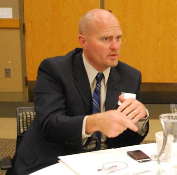 Scot Graden, superintendent of Saline Area Schools.