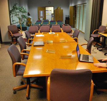 AATA temporary board room