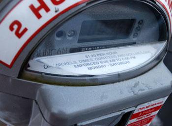 Ann Arbor parking meter