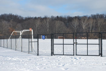 By installing a fence and gate around the athletic fields at Fuller Park, city parks staff can regulate how much the fields get used.