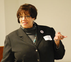 Trenda Rusher, head of Washtenaw County's Employment Training & Community Services (ETCS) department.