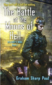 "Book cover for ""The Battle at the Moons of Hell"""
