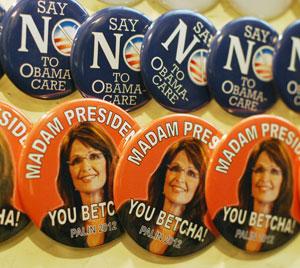 Sarah Palin buttons