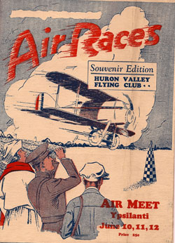 Promotional poster for the Ypsilanti Air Show