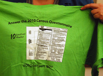 Census 2010 T-shirt