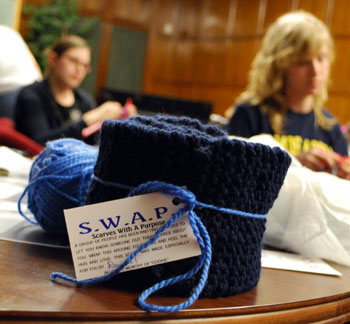 The Ann Arbor Chronicle Club Knits Community Scholars