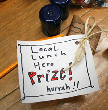 Prize from the Homegrown Local Food Summit