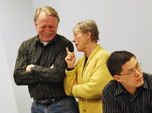 David Stead, Jean Carlberg, Fulter Hong