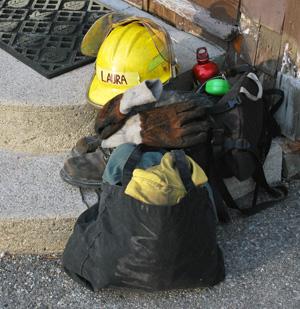 Burn crew gear
