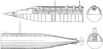 submarine schematic