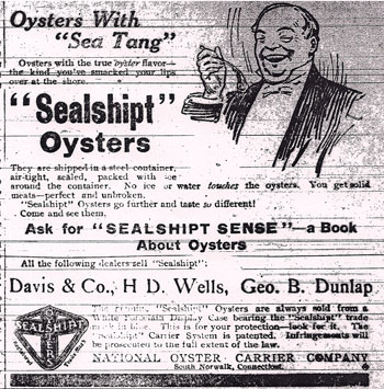 Oyster Advertisement