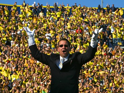 Michigan Marching Band Director Scott Boerma