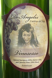 Vinosesso label