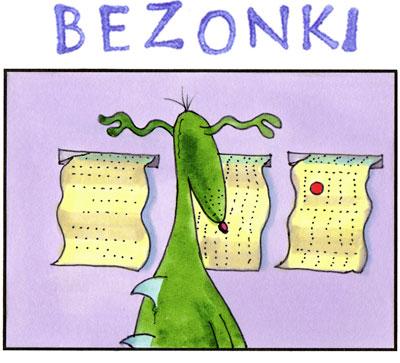 Bezonki Ann Arbor comics
