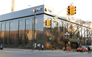PNC Bank building in Ann Arbor