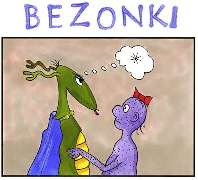 Bezonki comics Ann Arbor