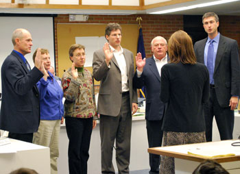 Ann Arbor City Council Swearing In