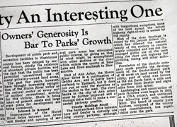 1936 Ann Arbor News article