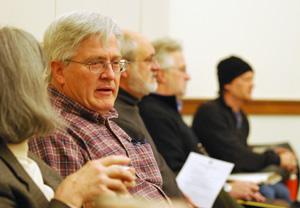 Catherine McClary, Brian Mackie, Tony VanDerworp, Bob Tetens, Dan Dwyer