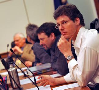 Members of the Ann Arbor greenbelt advisory commission