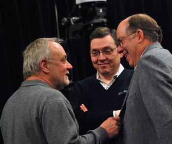 Bill Kinley, Stephen Rapundalo, Roger Fraser