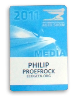 NAIAS 2011 Credential