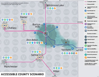 AATA Accessible County Map
