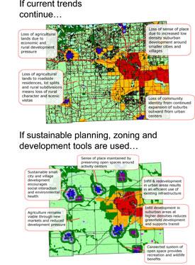 AATA Impact on Land Use Map