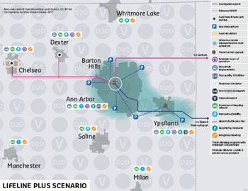 AATA Lifeline Plus Map