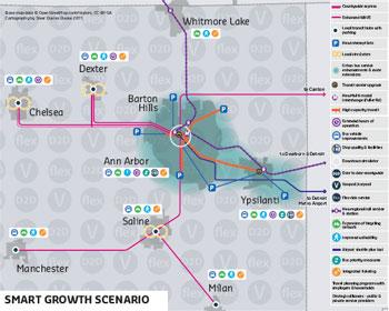 AATA Smart Growth Map