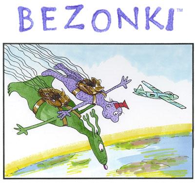 Bezonki Ann Arbor comic